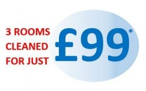 3 rooms for £99