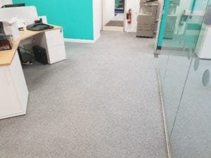Commercial cleaning example