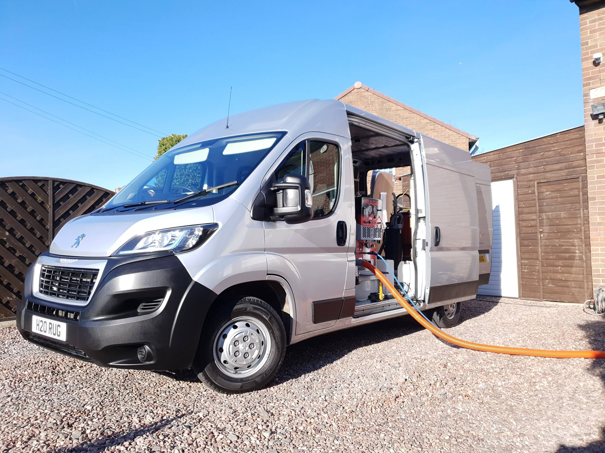 Carpet Cleaning Van and truckmount