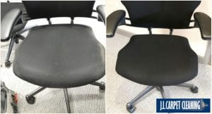 Upholstery Cleaning Example