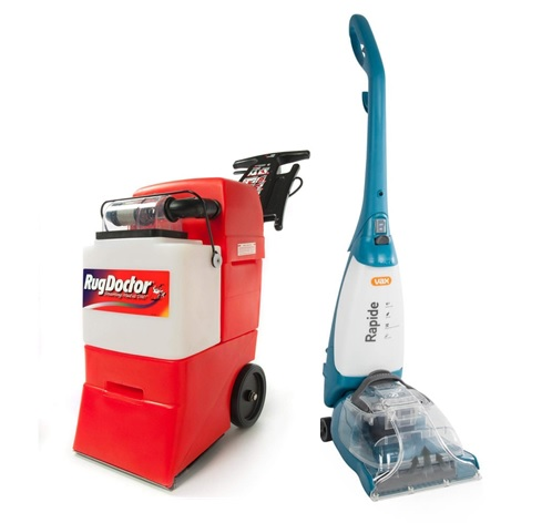 DIY cleaning machines