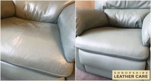 Leather Cleaning sofa